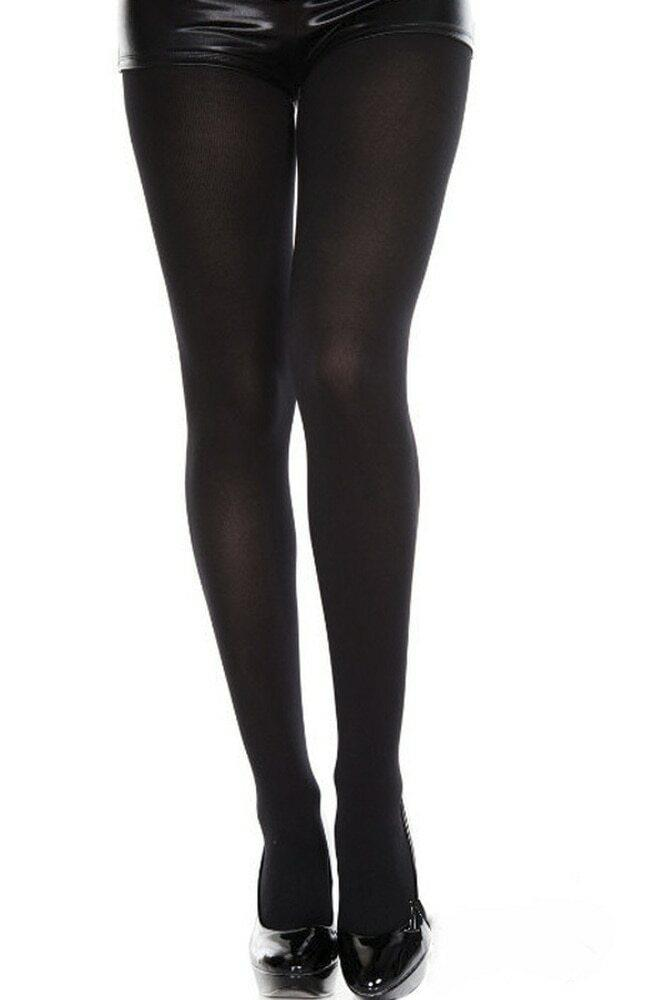 Unisex Ultra Strong Opaque Tights Black
