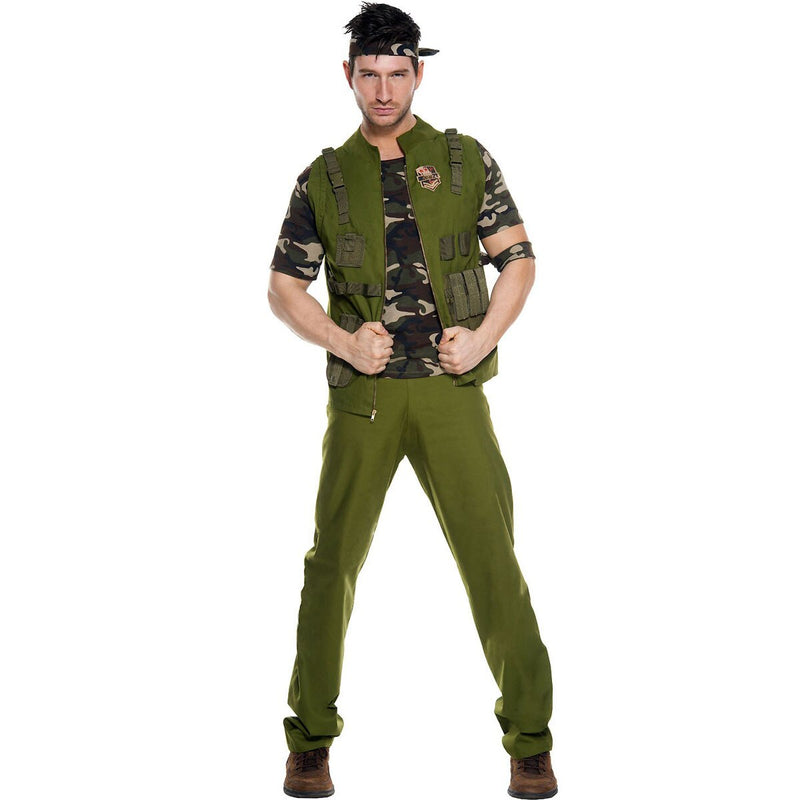Mens Army General Uniform Costume