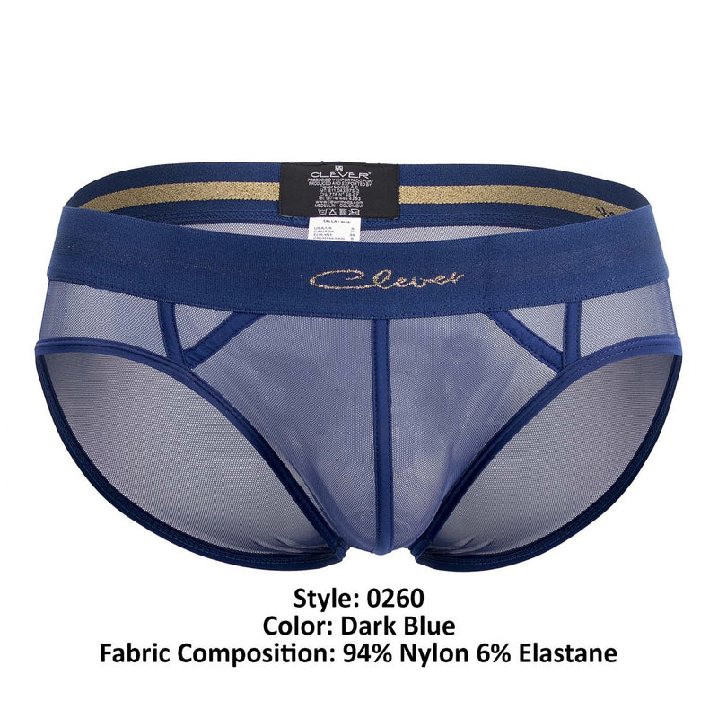 Clever 0260 Myself Latin Briefs Dark Blue