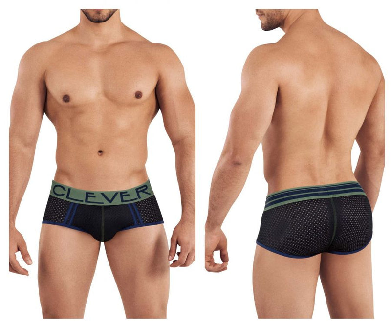 Clever 0349 Brasilea Briefs Black