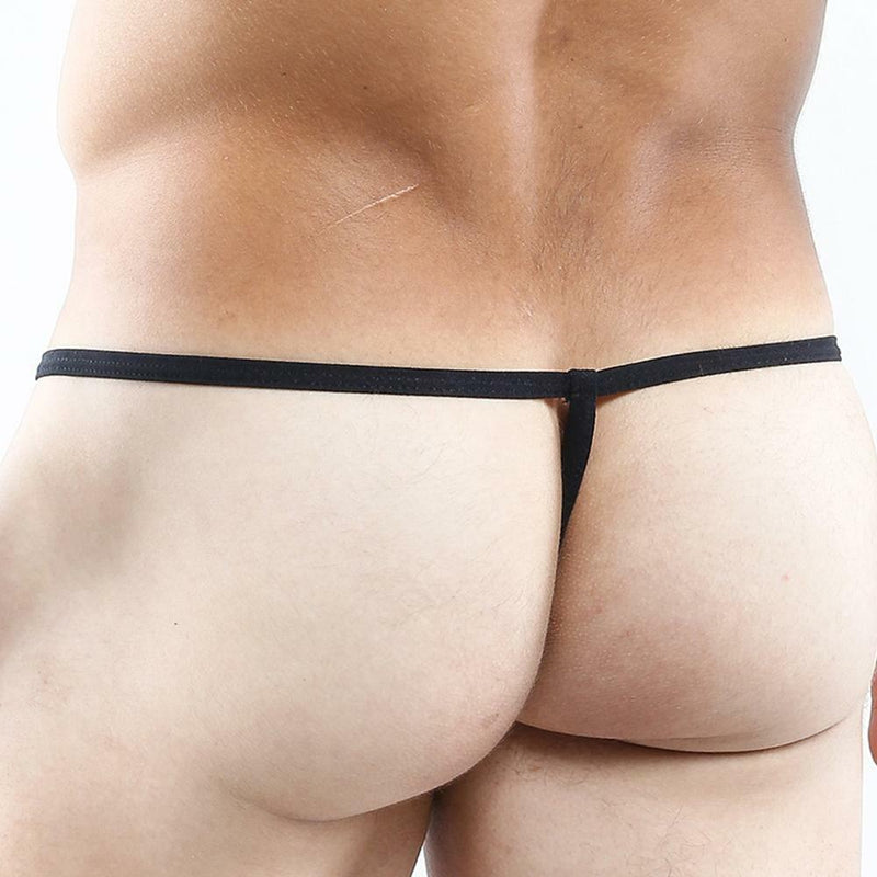 Mens Good Devil Caresses Pouch G string Jade