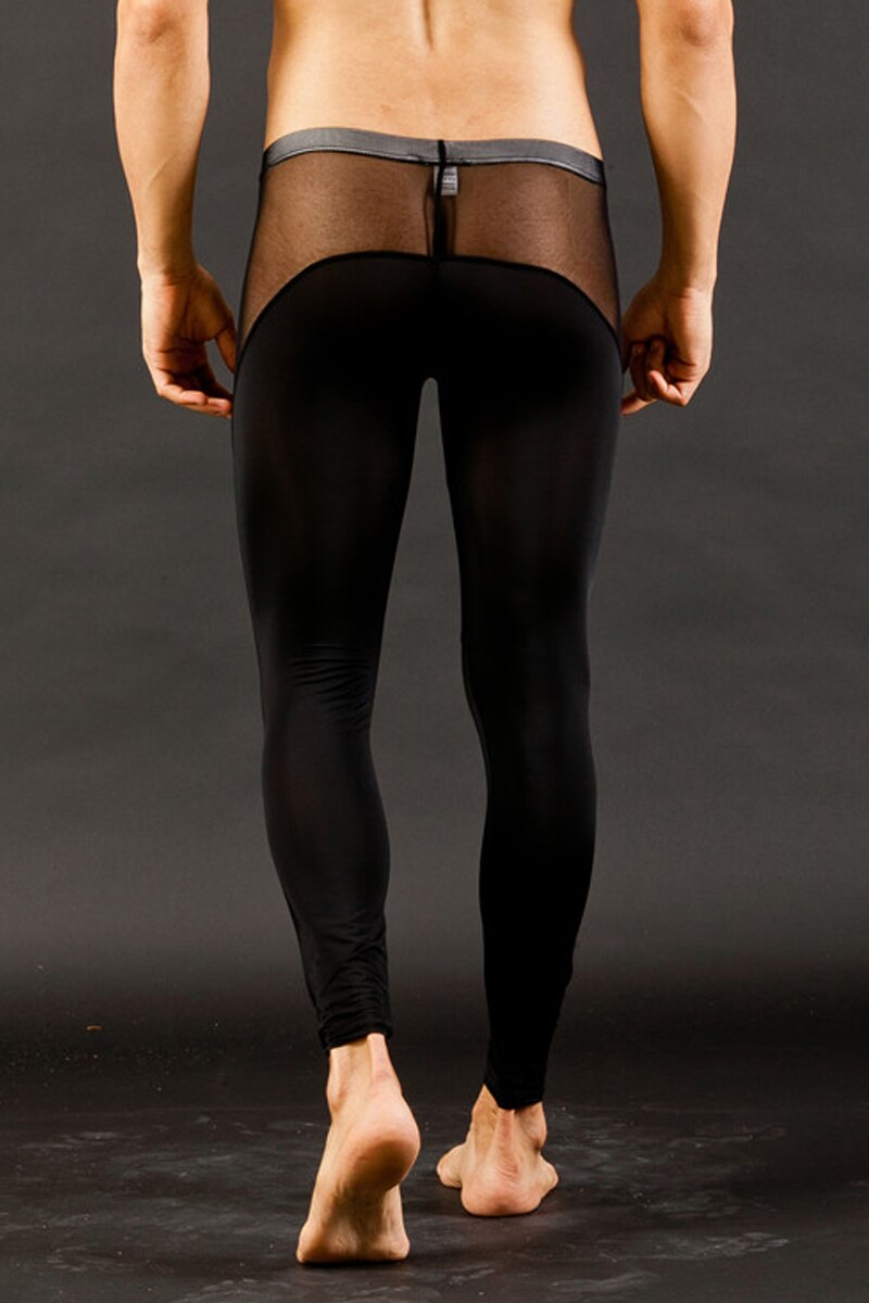 Mens Leggings Black