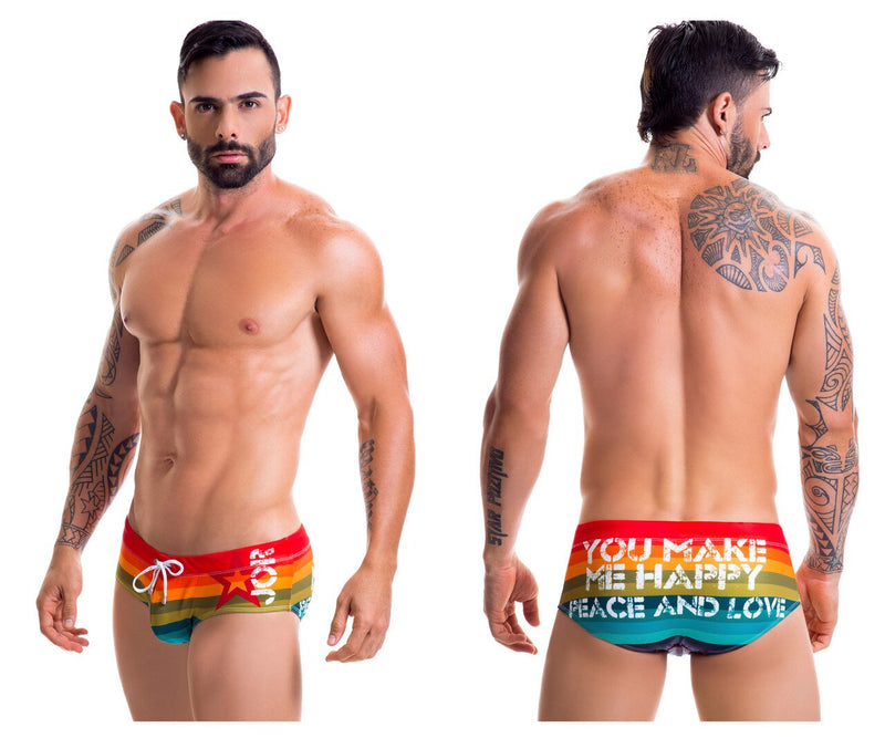 Pride Swim Briefs Color Multi-colored