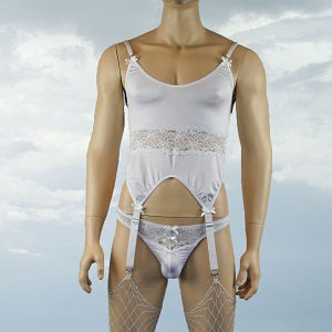 Mens-corset-gartered-top-with-lace-front-thong-g-string-white-johnnies-closet-underwear-men-online-shop