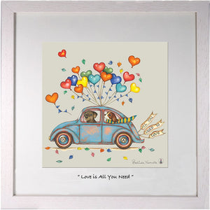 Beetle Love is all you need 12 x 12