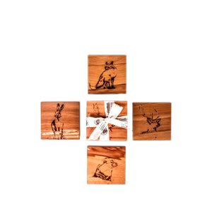 Native Collection Coasters S 4