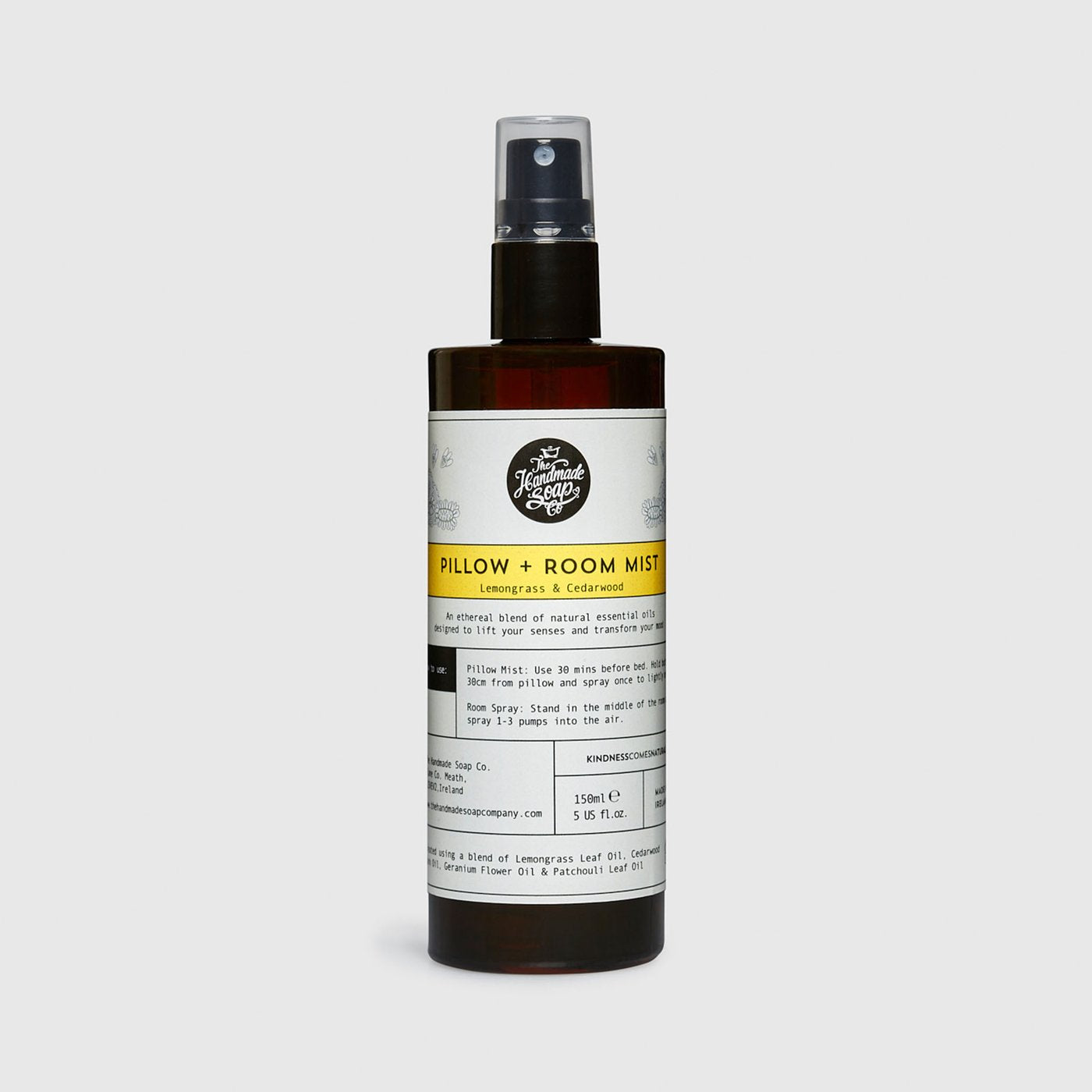 Pillow & Room Mist : Lemongrass & Cedarwood 100ML