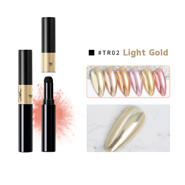 💖Air Cushion Magic Nail Powder Pen-Luxury Gold Series