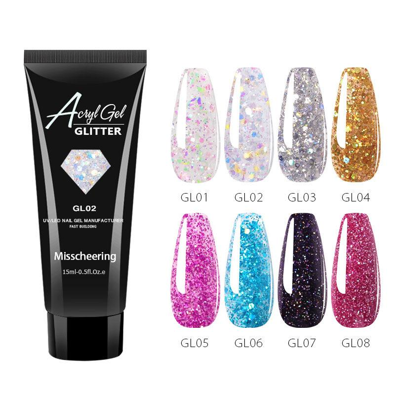 🍒Clear PolyGel for Nail Extensions(50% OFF)