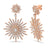 GOLD JOELLE STAR BURSTS EARRINGS