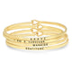 GOLD KARMA BANDS