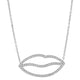 14K GOLD KISS NECKLACE