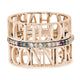 14K GOLD CLASSIC SIX NAME PERSONALIZED RING