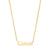 14K GOLD MINI NAME NECKLACE