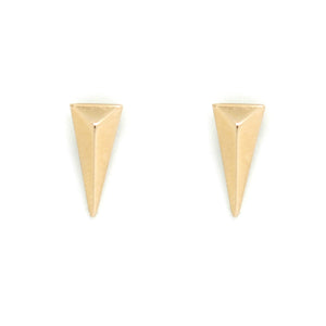 14K GOLD DAGGER EARRINGS