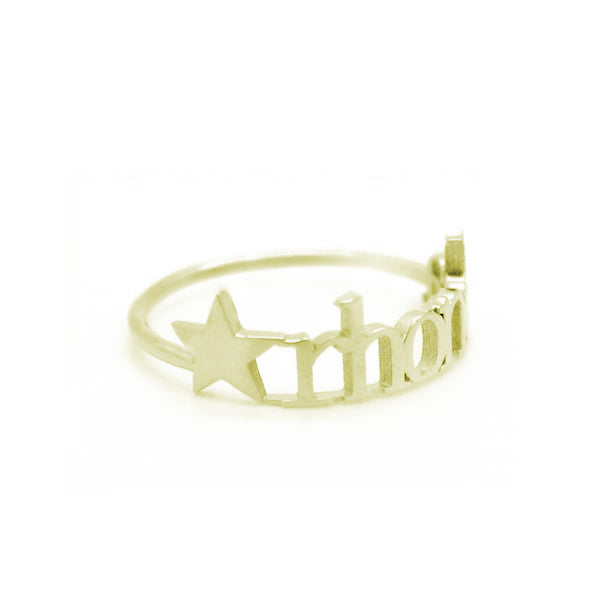 14K GOLD CLASSIC STAR RING