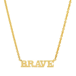 MINI BRAVE NECKLACE