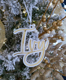 3D NAME ORNAMENT