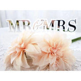 "DUAL-LAYER ""MR & MRS"" FREE STANDING SIGN"