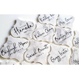 ARABESQUE PLACE CARDS