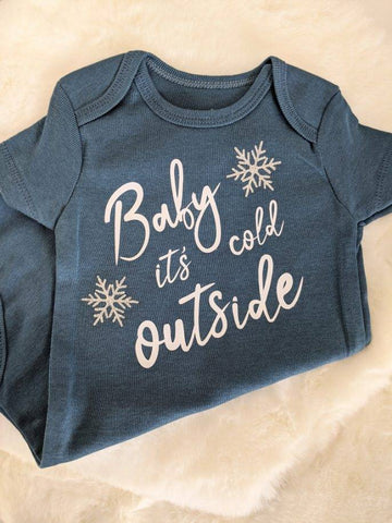 MTO {Baby It's Cold Outside} Onesie