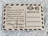 RTS {From Santa} Post Card