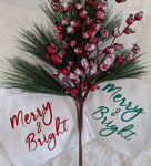 MTO {Merry & Bright} Onesie or Toddler Shirt