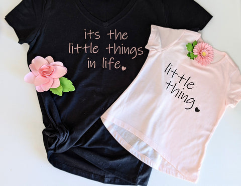 MTO {The Little Things} Mommy and Me Set