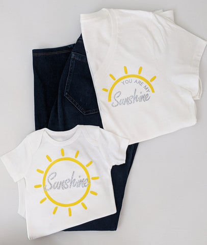 MTO {My Sunshine} Mommy and Me Set