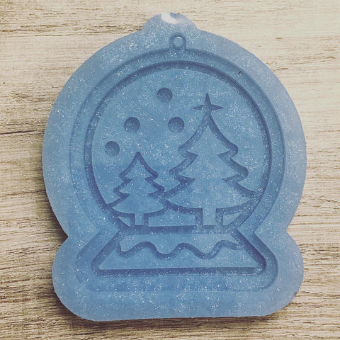 MTO {Snowglobe} Ornament Mold