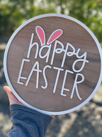 MTO {Happy Easter} Sign