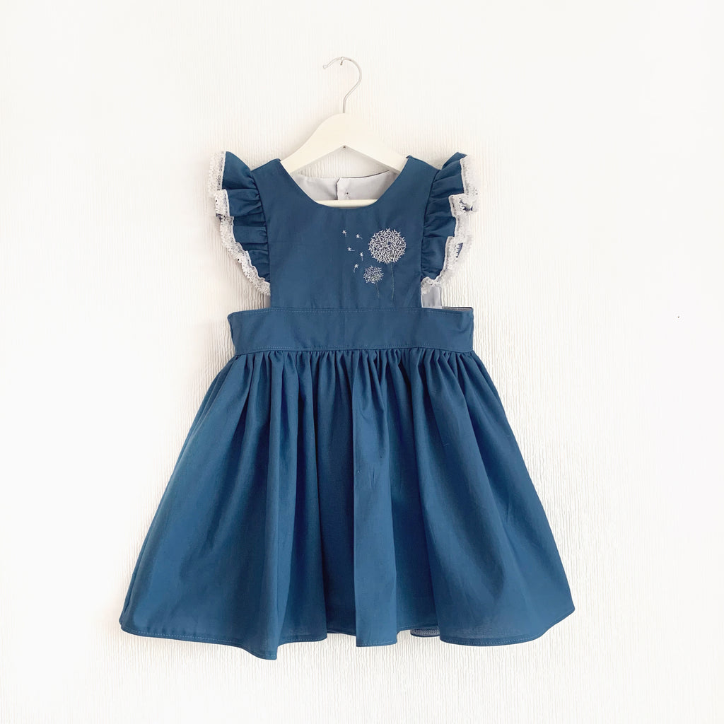 Dandelion pinafore. (Colour options available)