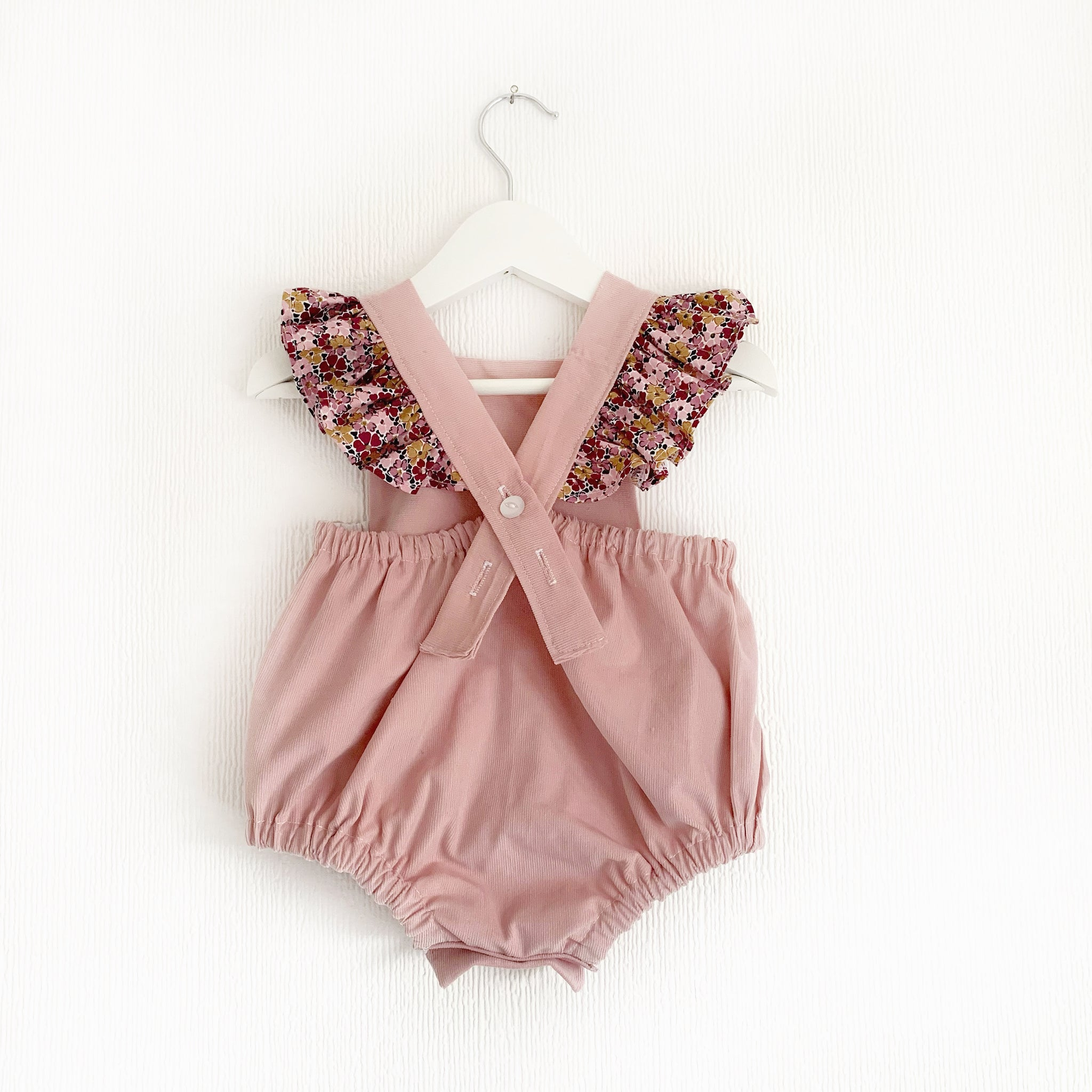 Liberty and bunnie flutter romper