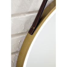 Load image into Gallery viewer, James Martin 911-M27.6-BGD Annapolis 27 Inch Mirror in Brushed Gold