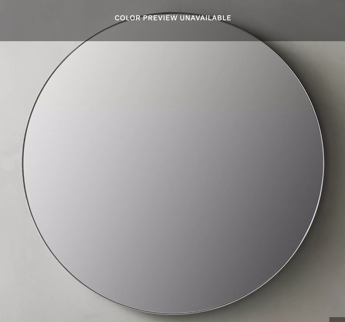 Lambeth Knurled Round Mirror- Brass