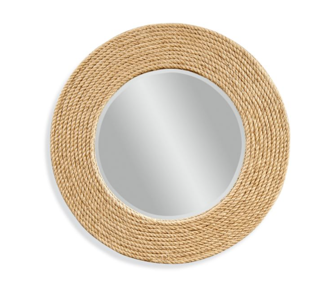 Cape Cod Round Rope Mirror, 36