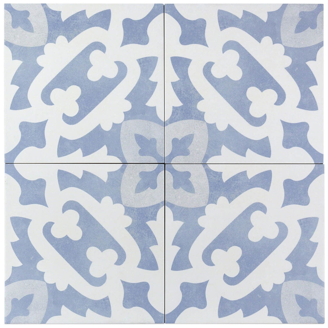 Bella Moma Glazed 9x9 Porcelain Tile