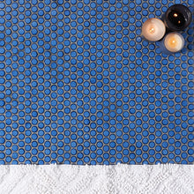 "Load image into Gallery viewer, Nirvana Midnight Blue 1"" Circles Ceramic Tile"