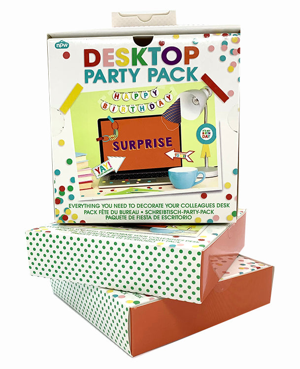 The Harley Gallery Shop Online // Desk top party pack