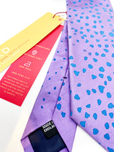Load image into Gallery viewer, The Harley Gallery Shop Online // Jane Keith Silk Tie Purple and Blue Spot