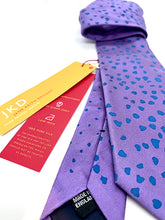 Load image into Gallery viewer, The Harley Gallery Shop Online // Purple silk tie on sale