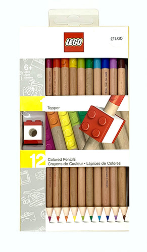 The Harley Gallery Shop Online // Coloured pencils Lego UK