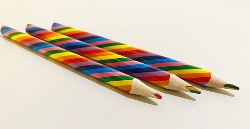 The Harley Gallery Shop Online // Rainbow pencil