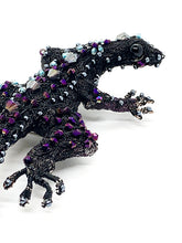Load image into Gallery viewer, The Harley Online Gallery Shop // Wire beaded lizard brooch