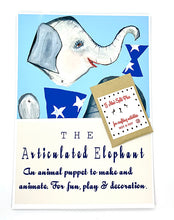 Load image into Gallery viewer, The Harley Gallery Shop Online // DIY craft kit - Elephant puppet