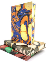 Load image into Gallery viewer, Marbled Leather Sketchbook