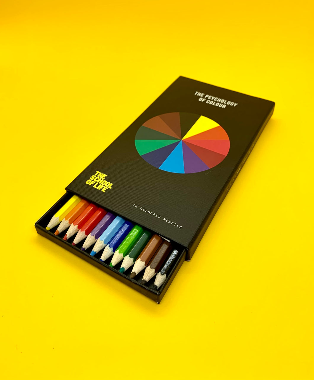 The Harley Gallery Shop Online // The Psychology of Colour boxed set of pencils
