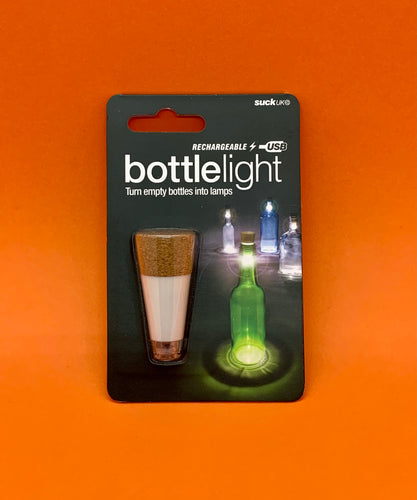 The Harley Gallery Shop Online // Rechargeable bottle light