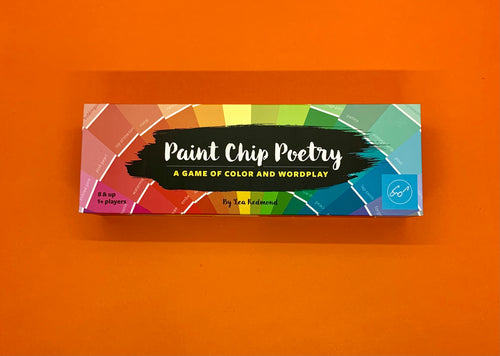 The Harley Gallery Shop Online // Paint Chip Poetry game