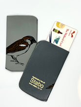Load image into Gallery viewer, The Harley Gallery Shop Online // Handmade leather bird card pouch